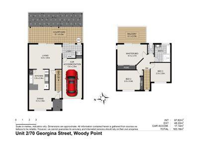 2 / 70 GEORGINA STREET, Woody Point