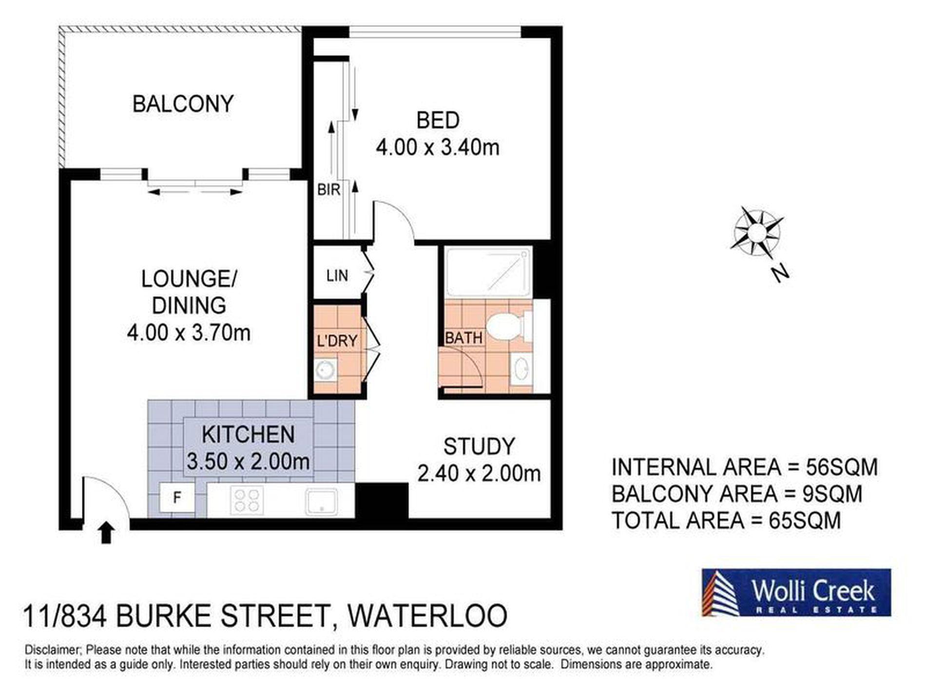 11 / 834 Bourke Street, Waterloo