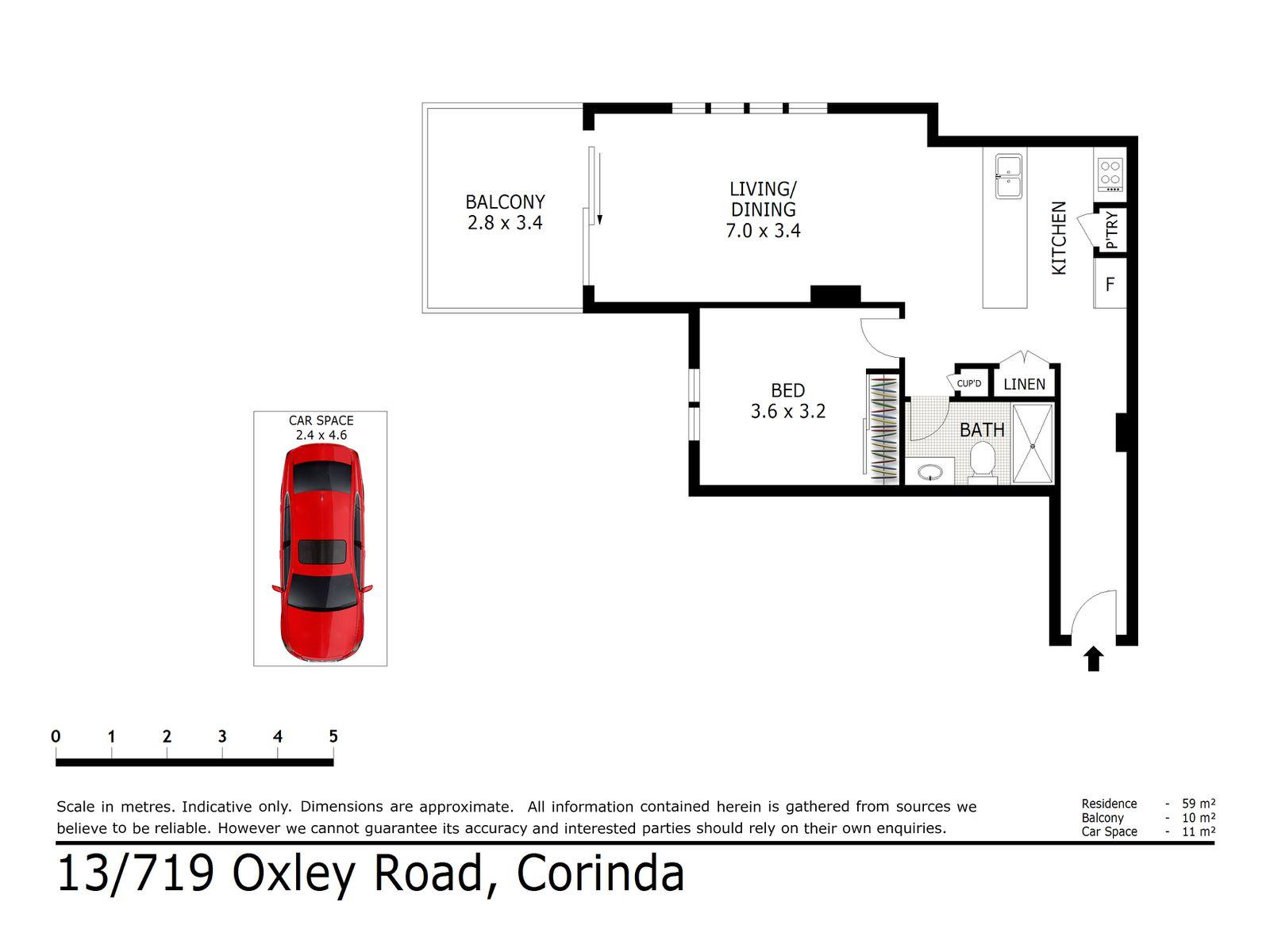 13 / 719 Oxley Road, Corinda