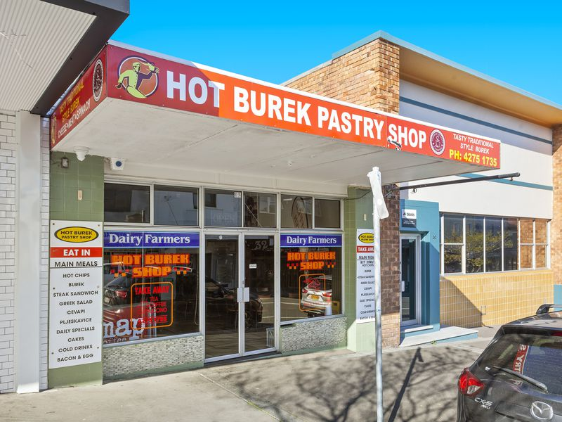 Port Kembla Hot Burek Shop
