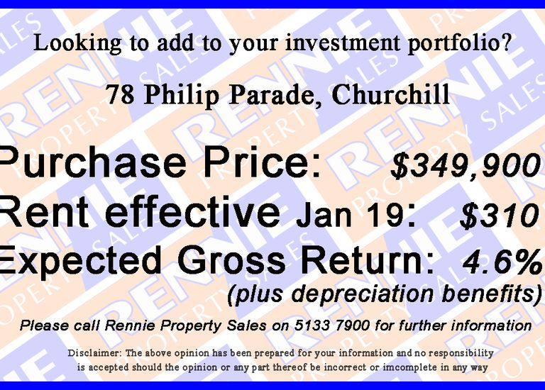 78 Philip Parade, Churchill