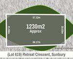 Lot 619, Retreat Crescent, Sunbury