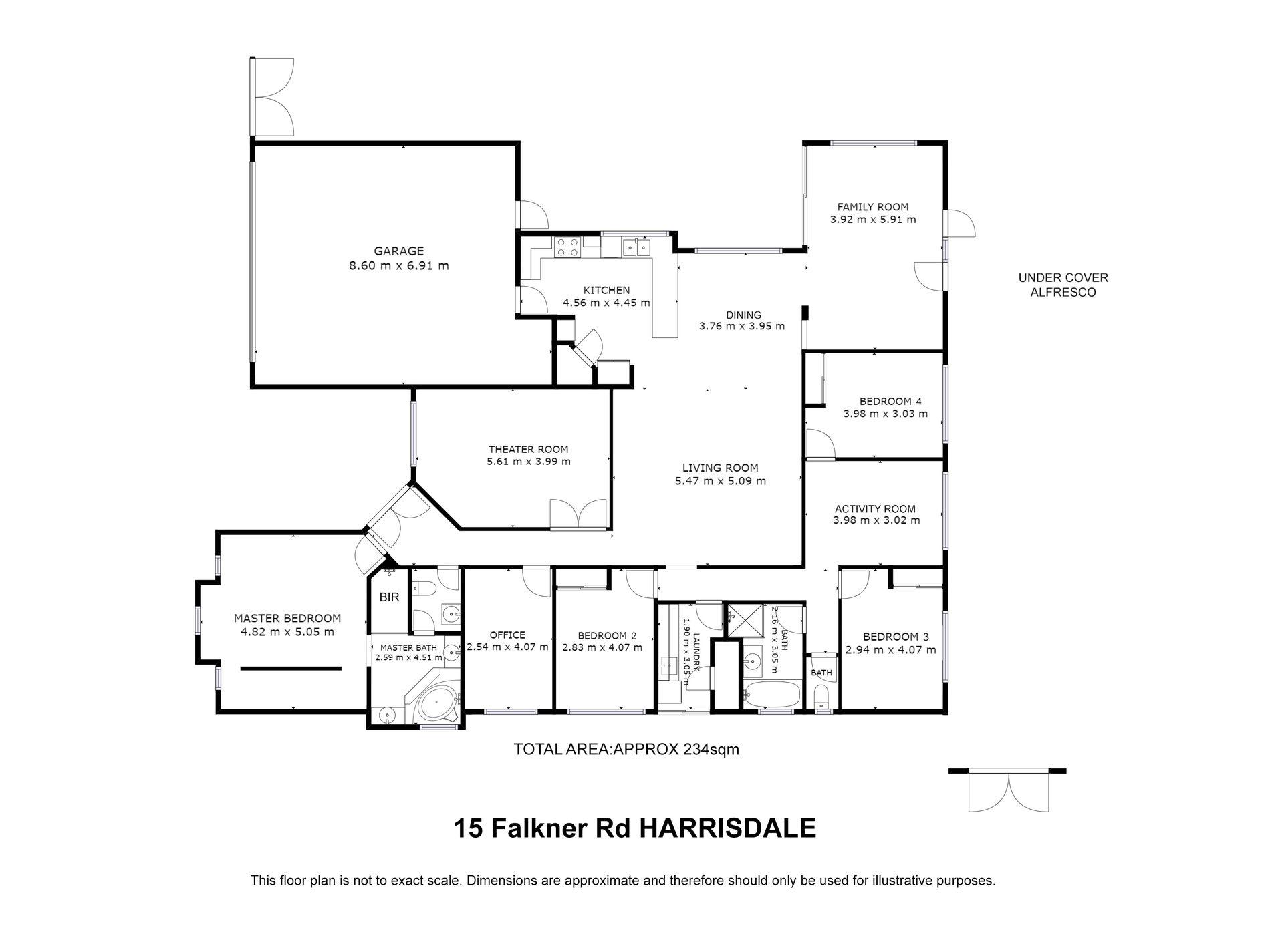 15 Falkner Road, Harrisdale