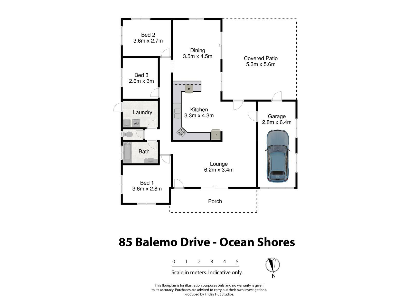 85 Balemo Drive, Ocean Shores