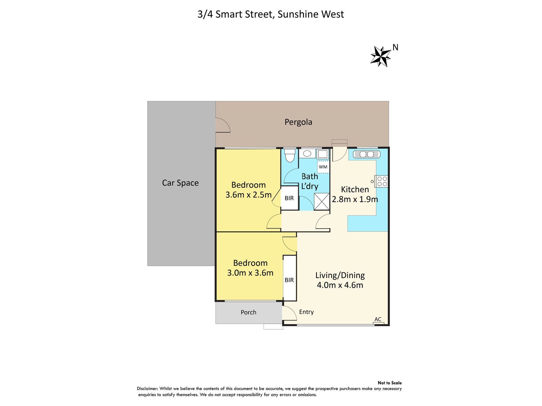 3 / 4 Smart Street, Sunshine West