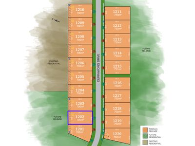 Lot 1202, Currawong Drive, Tamworth