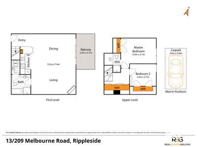 13 / 209 MELBOURNE ROAD, Rippleside