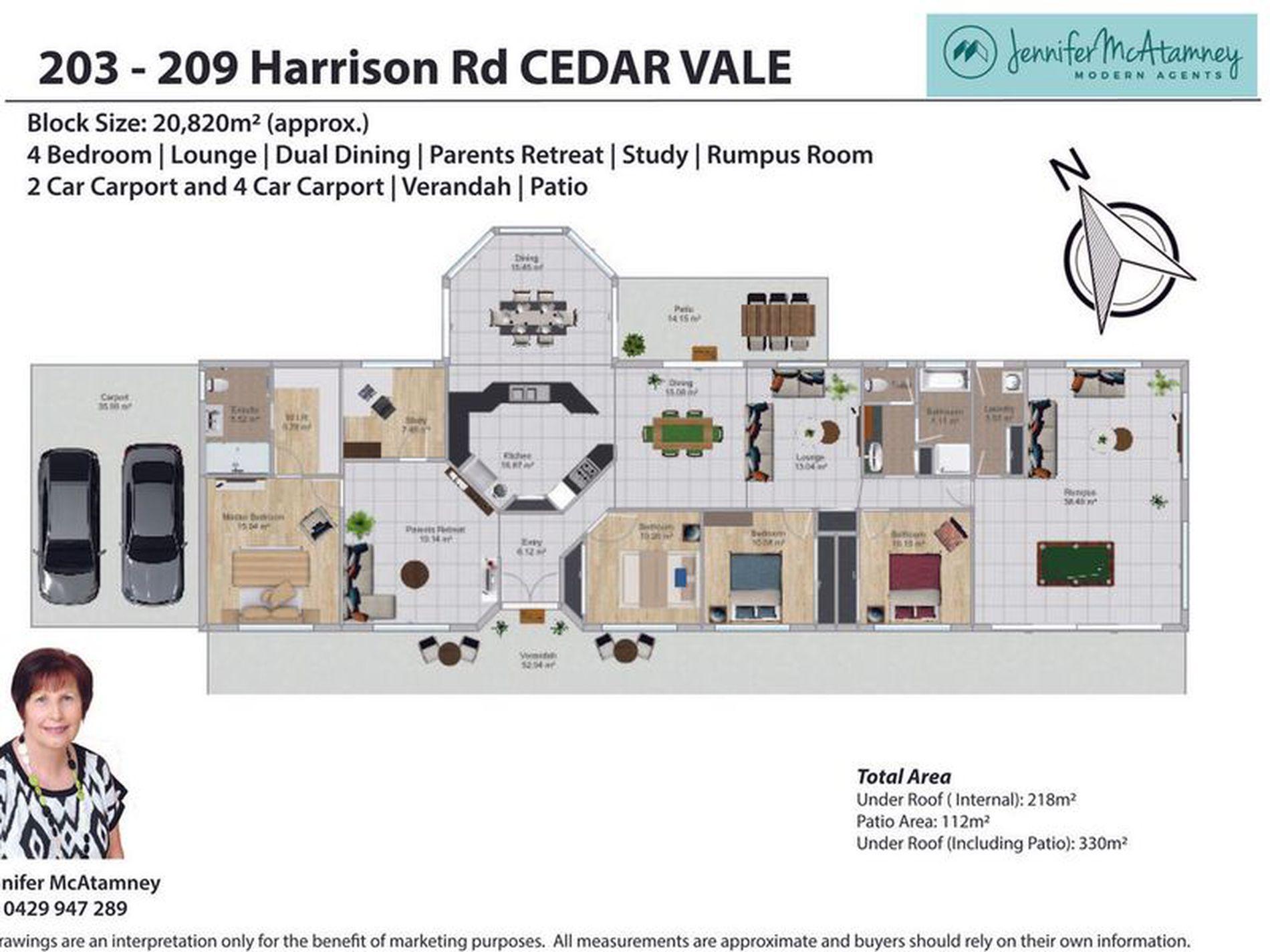 203-209 Harrison Road, Cedar Vale