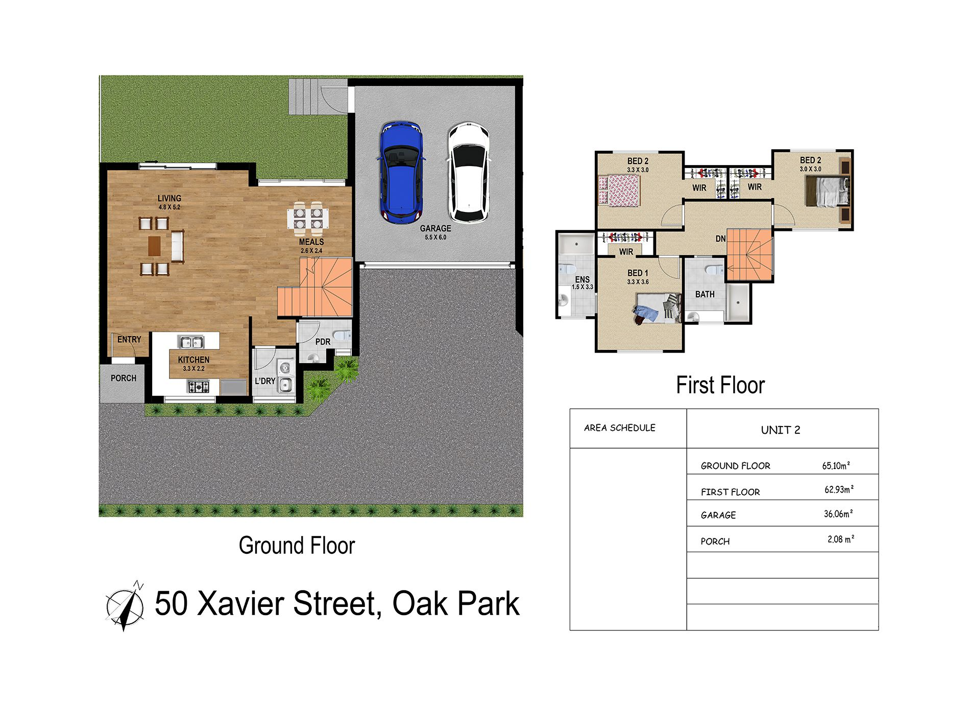 1 & 2  / 50  Xavier Street Oak Park Vic 3046, Oak Park