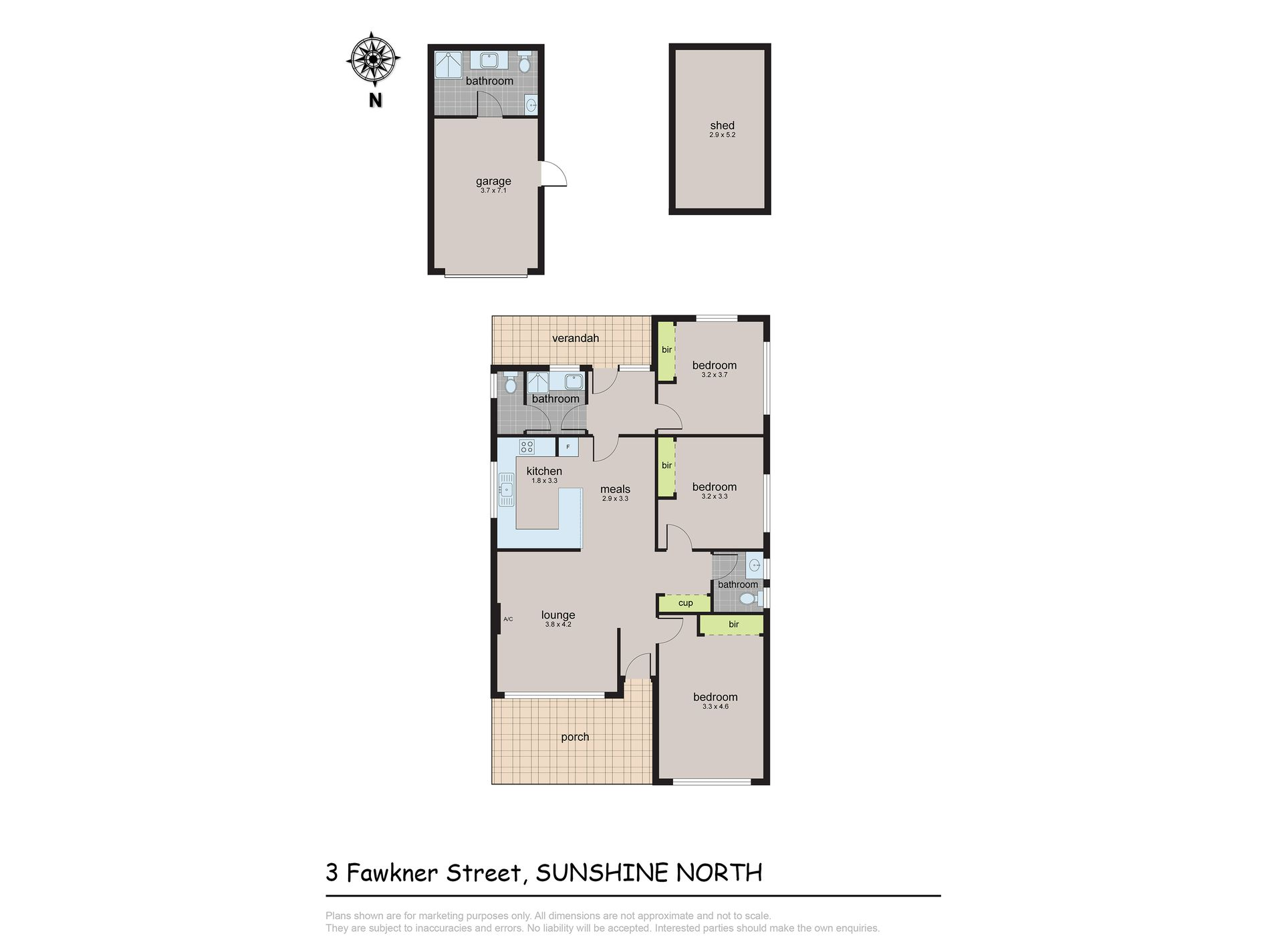 3 Fawkner Street, Sunshine North