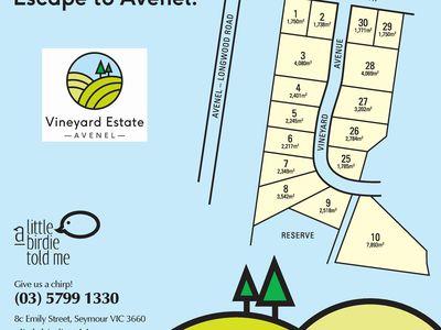 Vineyard Estate Longwood Avenel Road, Avenel