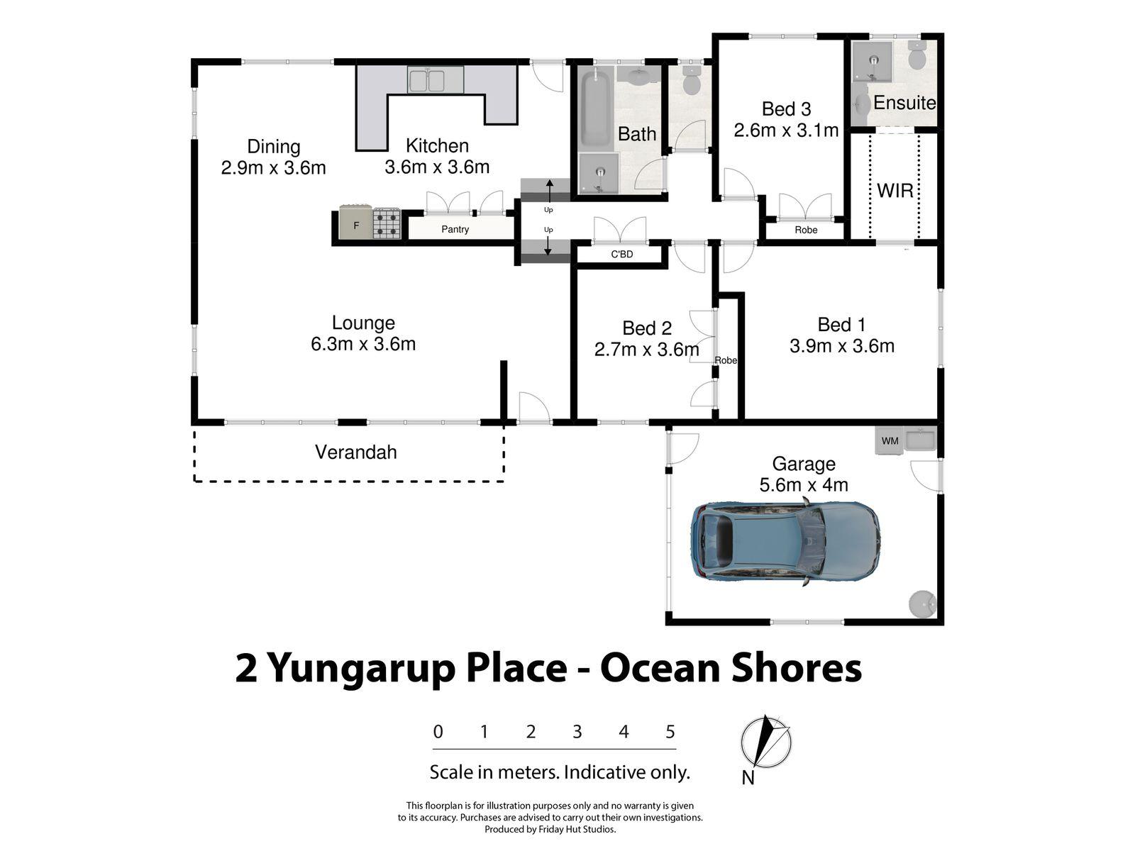 2 Yungarup Place, Ocean Shores