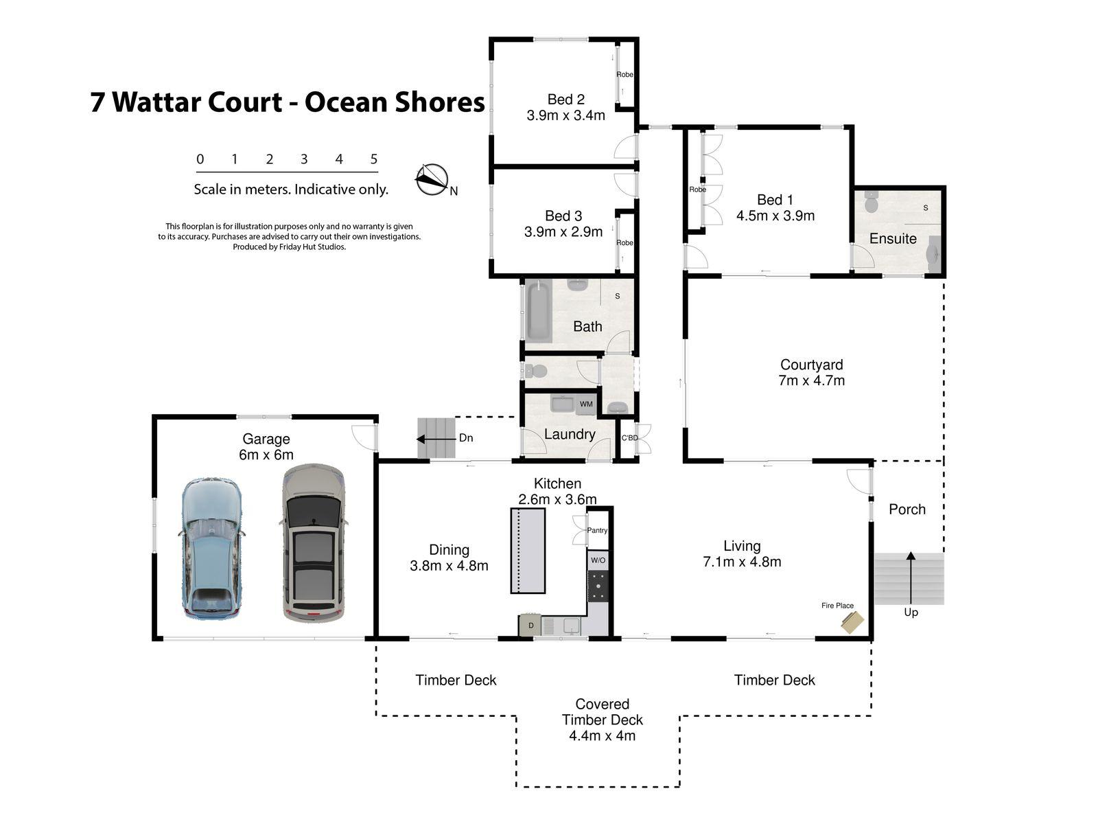 7 Wattar Court, Ocean Shores