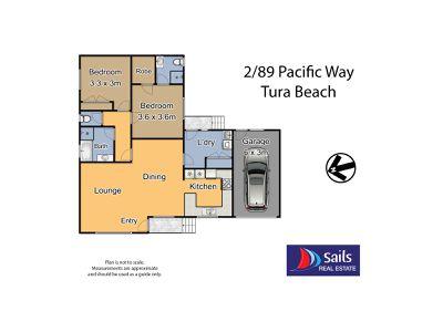 2 / 89 Pacific Way, Tura Beach