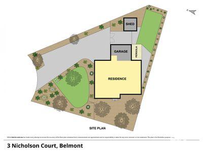 3 NICHOLSON COURT, Belmont
