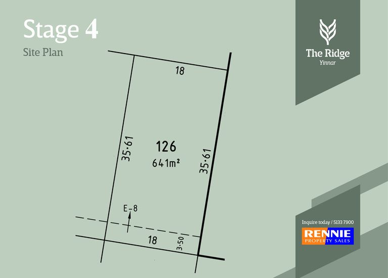 Lot 126, Ridge Boulevard, The Ri...