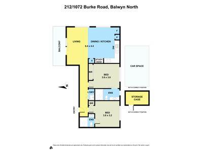 212 / 1072 Burke Road , Balwyn North