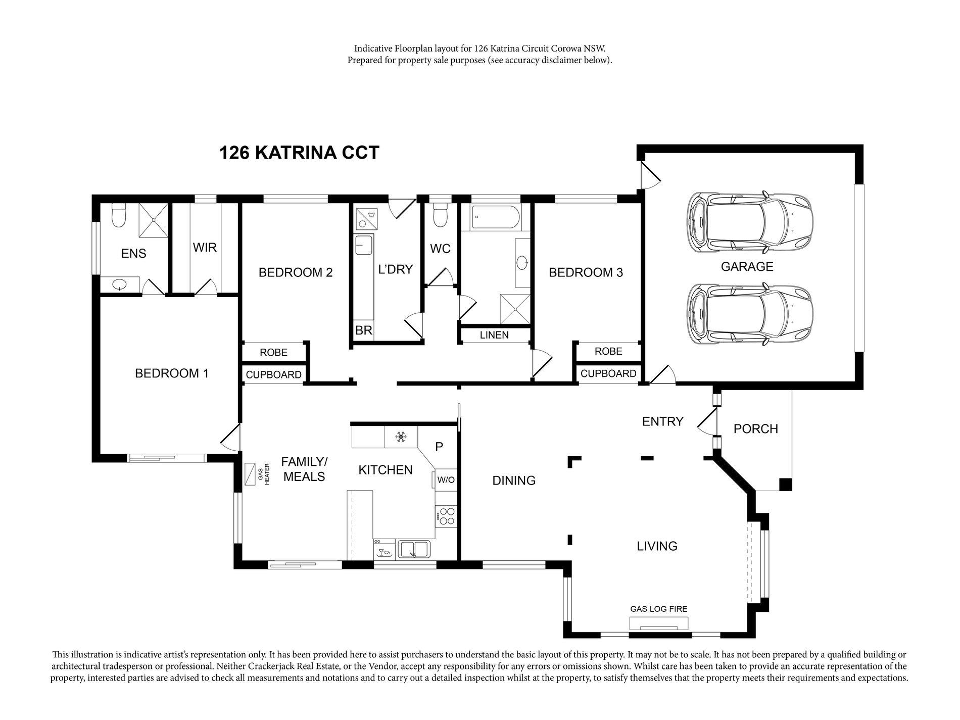 126 KATRINA CIRCUIT, Corowa