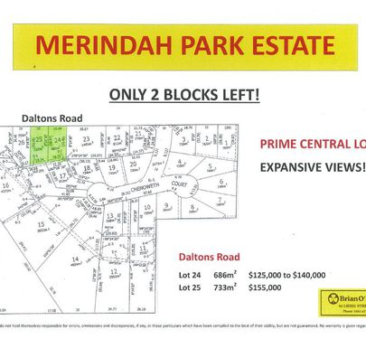 Lot 24 & 25, Daltons Road, Warrnambool