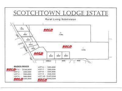 - Upper Scotchtown Road/Connells Cross Road, Scotchtown