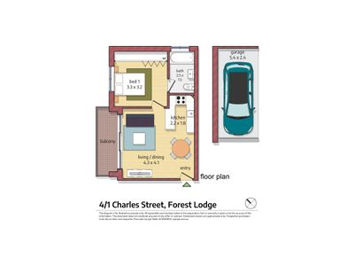 4 / 1 Charles Street, Forest Lodge