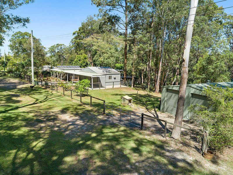 Acreage, House and plenty of sheds