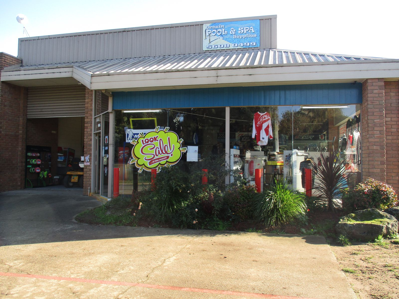Adventure Motorcycles and Small Engine Repairs & Drouin Pool and Spa Supplies