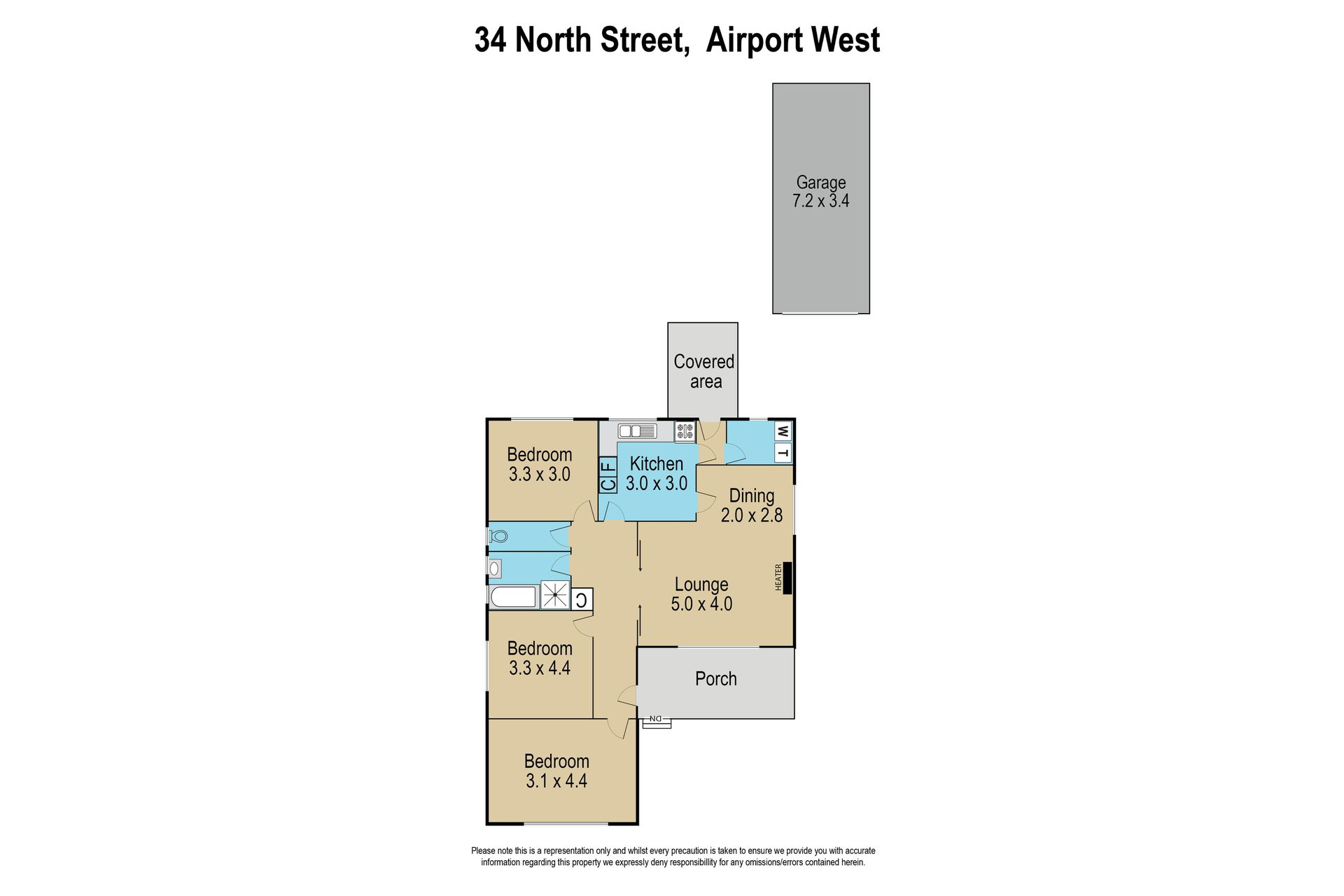 34 North Street, Airport West