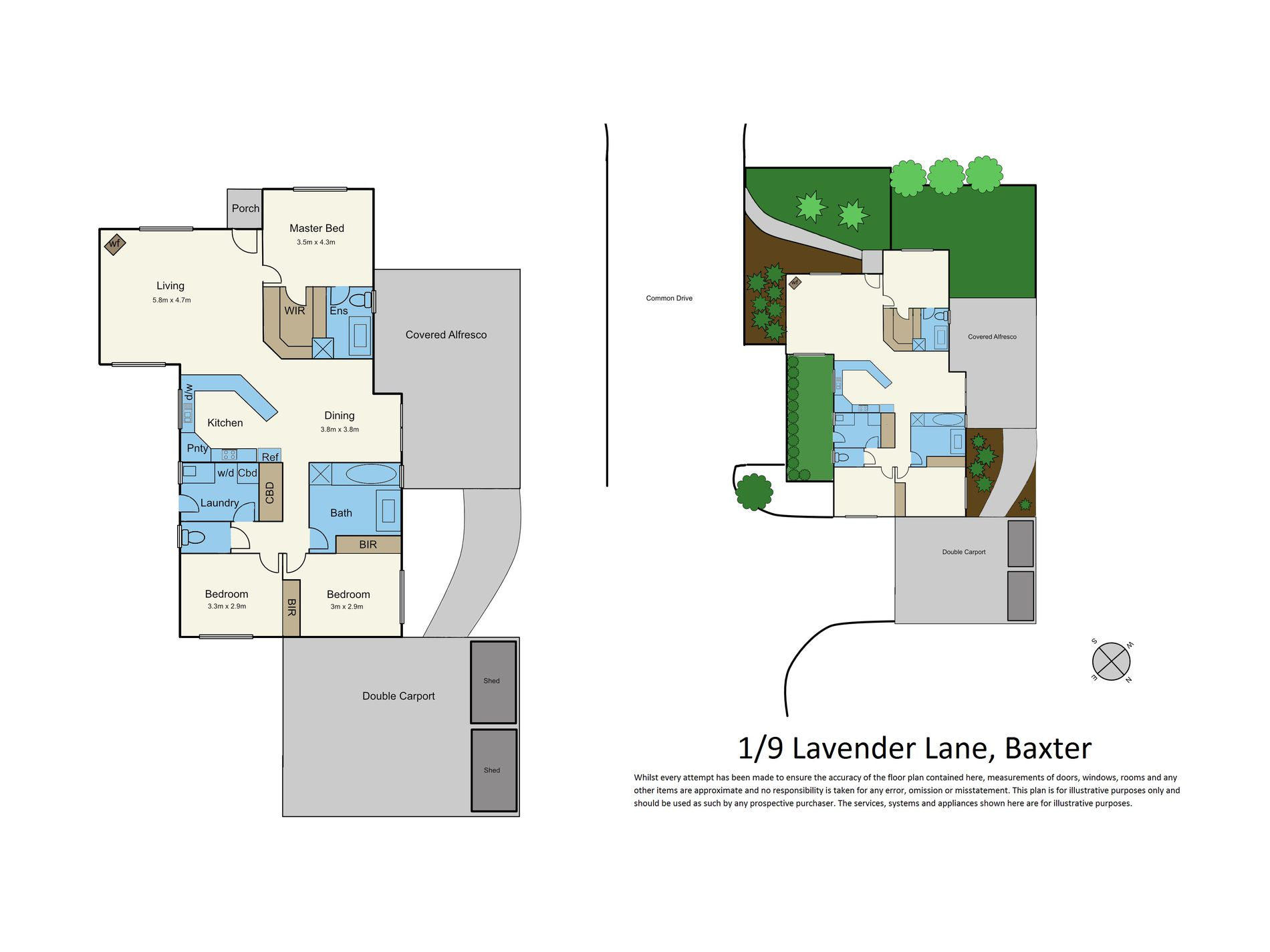 1 / 9 Lavender Lane, Baxter
