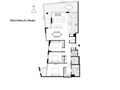 703 / 13 Mary Street, Rhodes