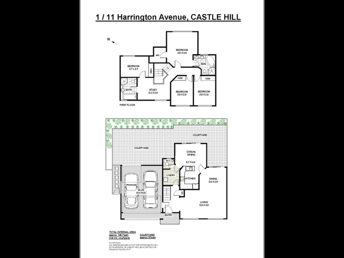 1 / 11 Harrington Ave, Castle Hill