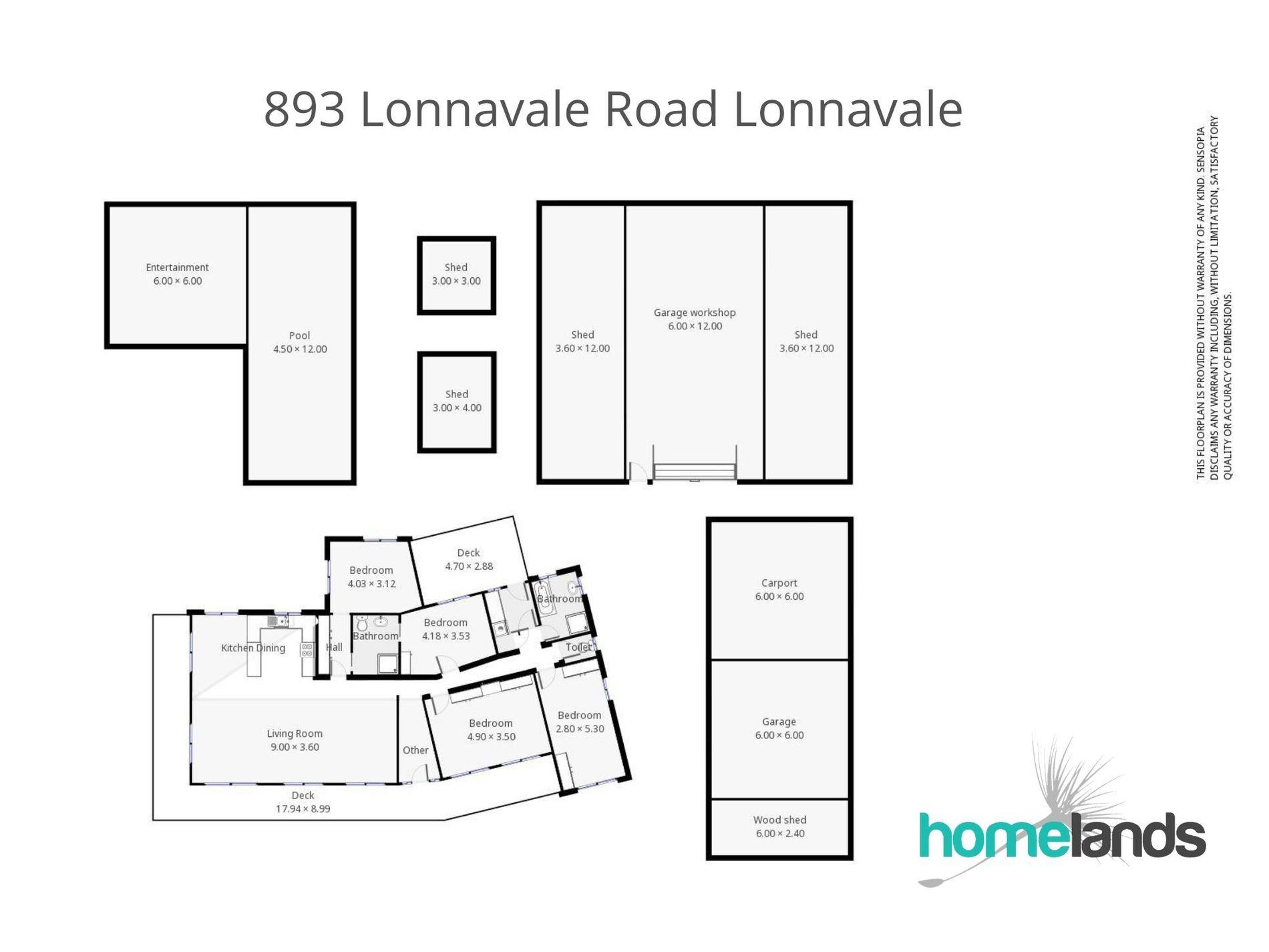 893 Lonnavale Road, Lonnavale