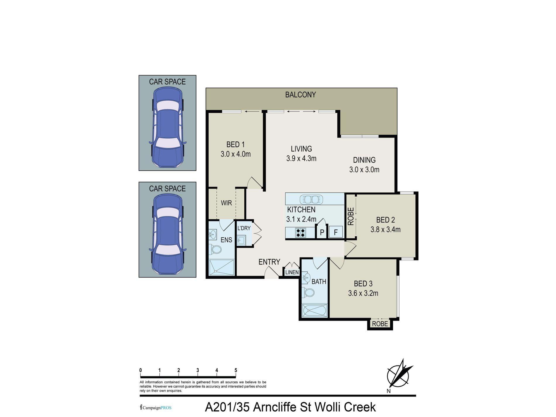 A201 / 35 Arncliffe Street, Wolli Creek