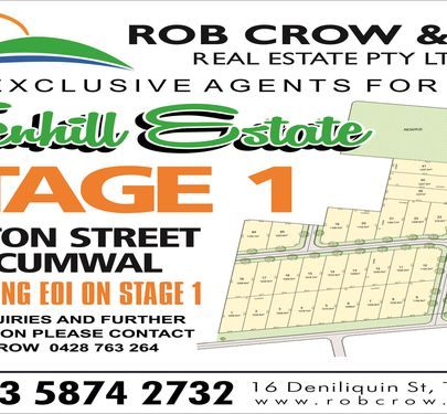Lot 21, Hadley Street, Tocumwal