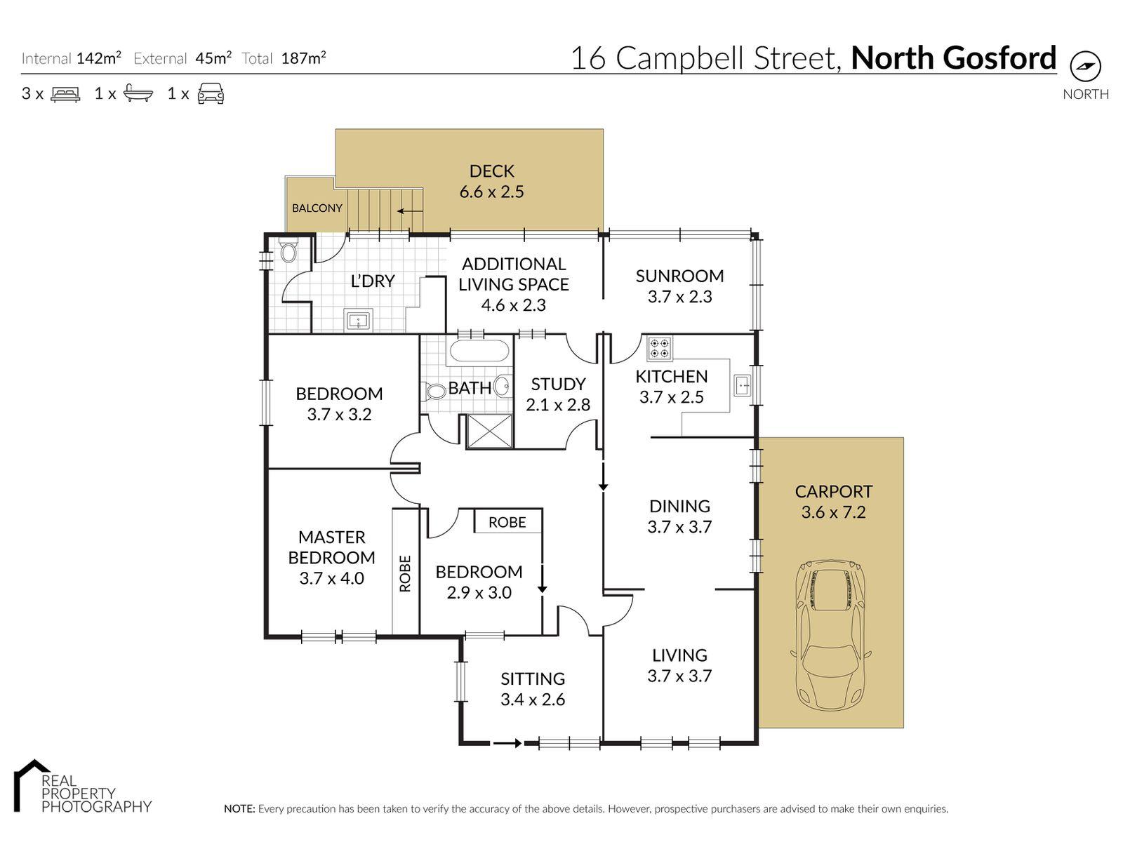 16 Campbell Street, North Gosford