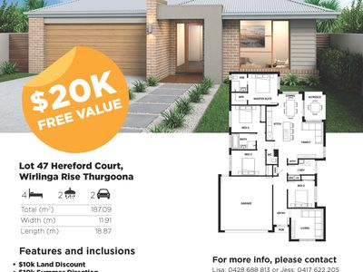 40-53 LOTS 40-53 WIRLINGA RISE, Thurgoona