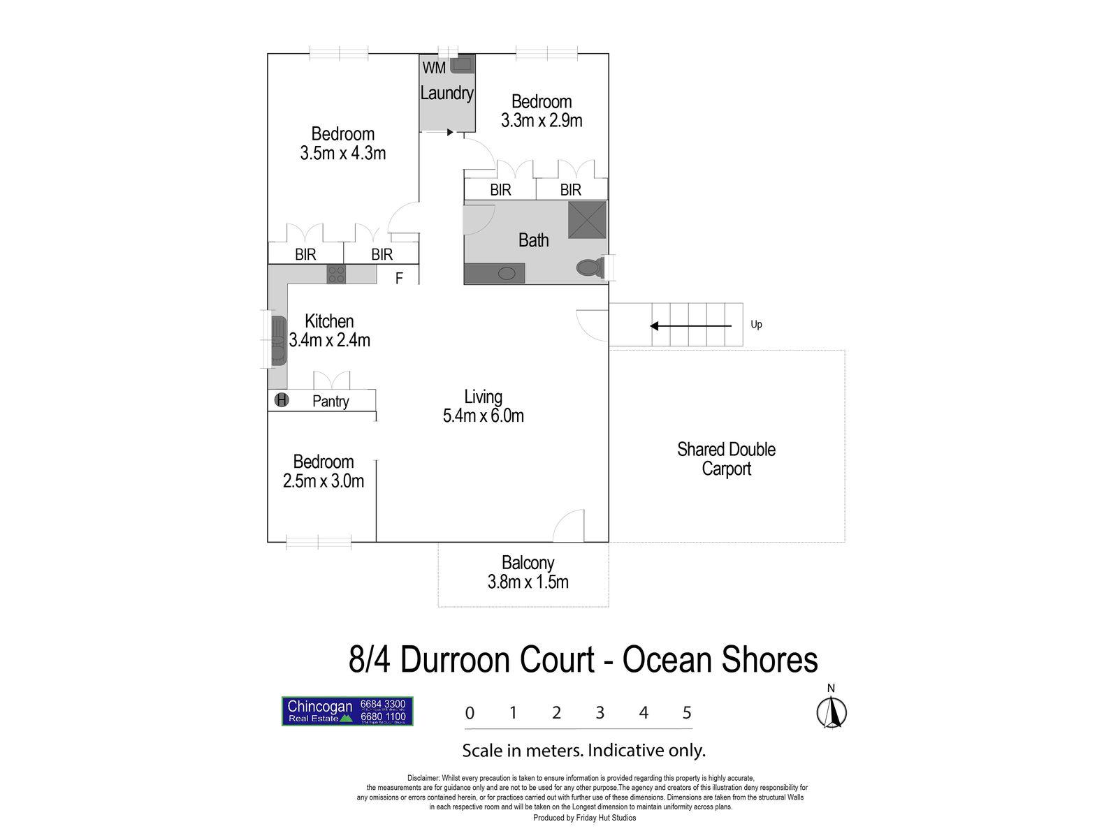 8 / 4 Durroon Court, Ocean Shores