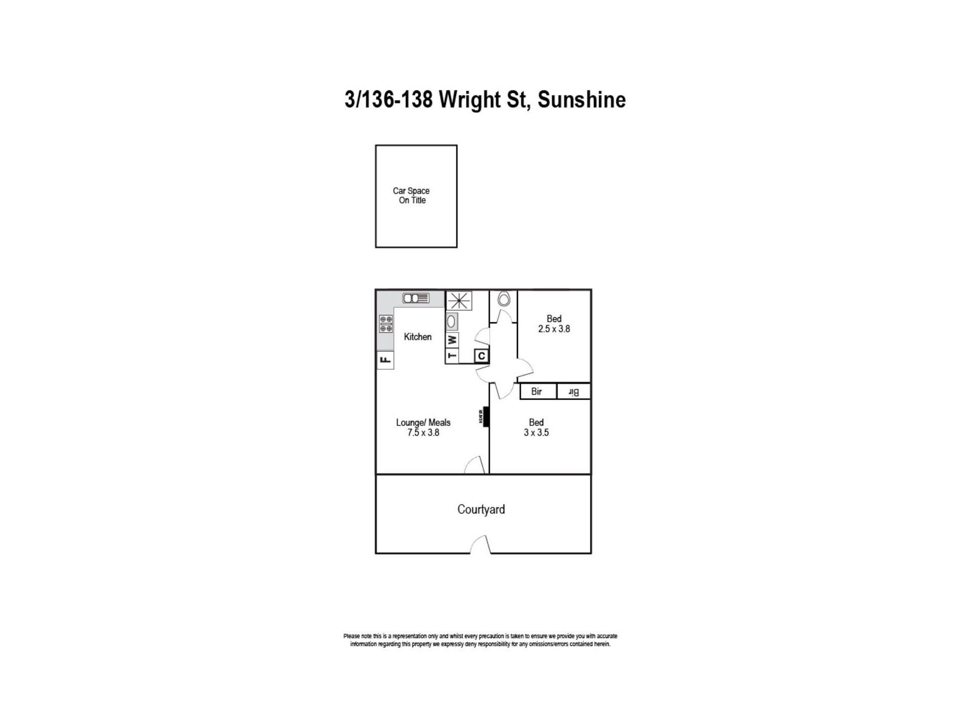 3 / 136 Wright Street, Sunshine