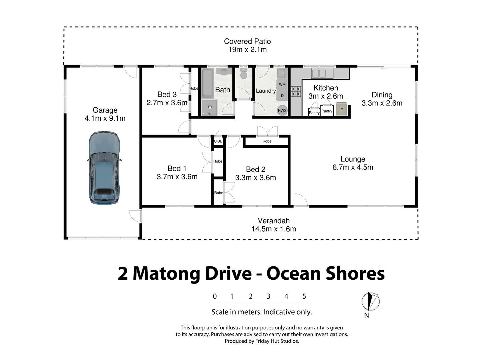 2 Matong Drive, Ocean Shores
