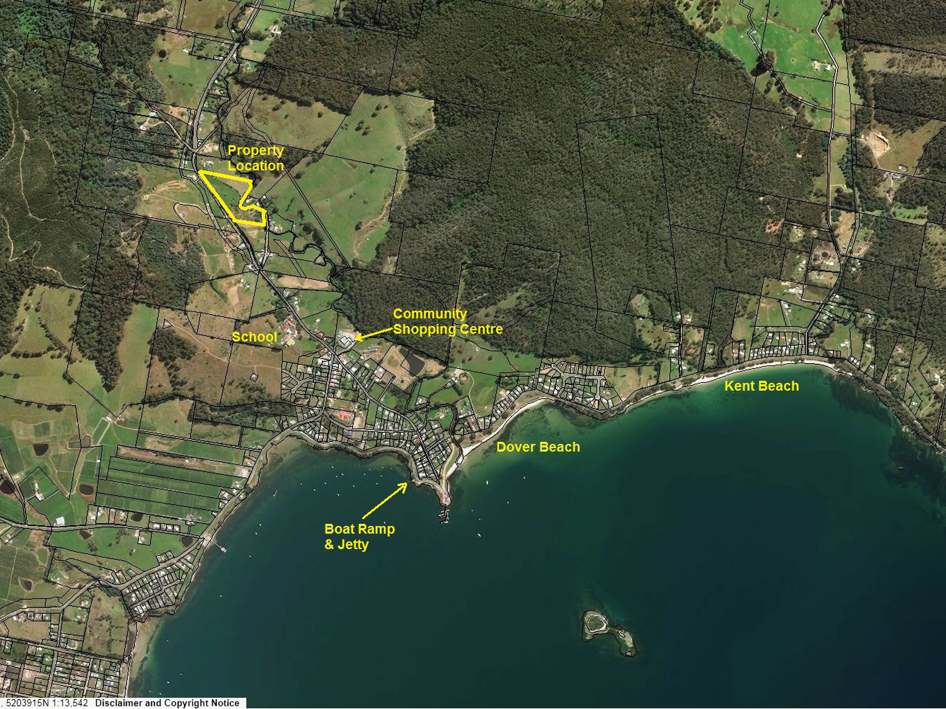 Lot 2, Huon Highway, Dover