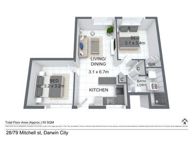 28 / 79 Mitchell Street, Darwin City