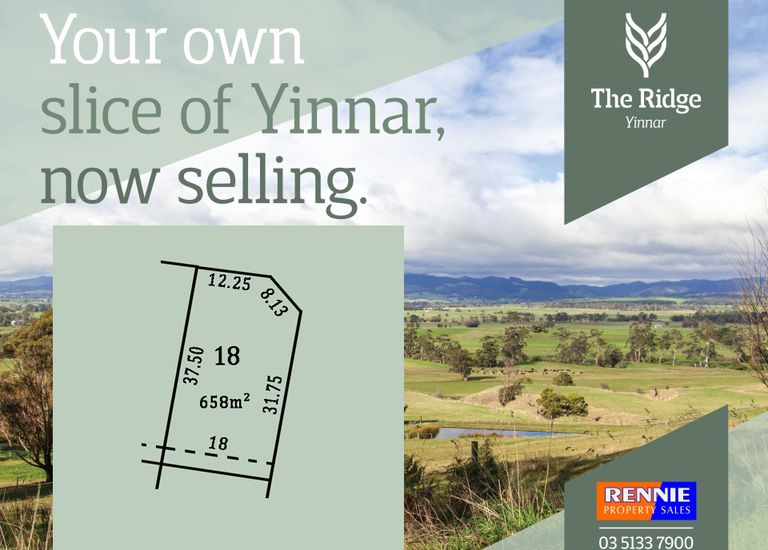 Lot 18, The Ridge Estate, Yinnar