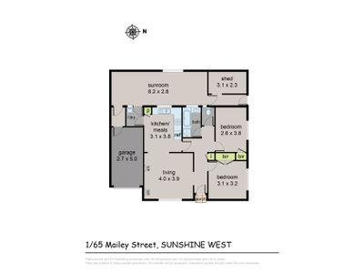 1 / 65 Mailey Street, Sunshine West