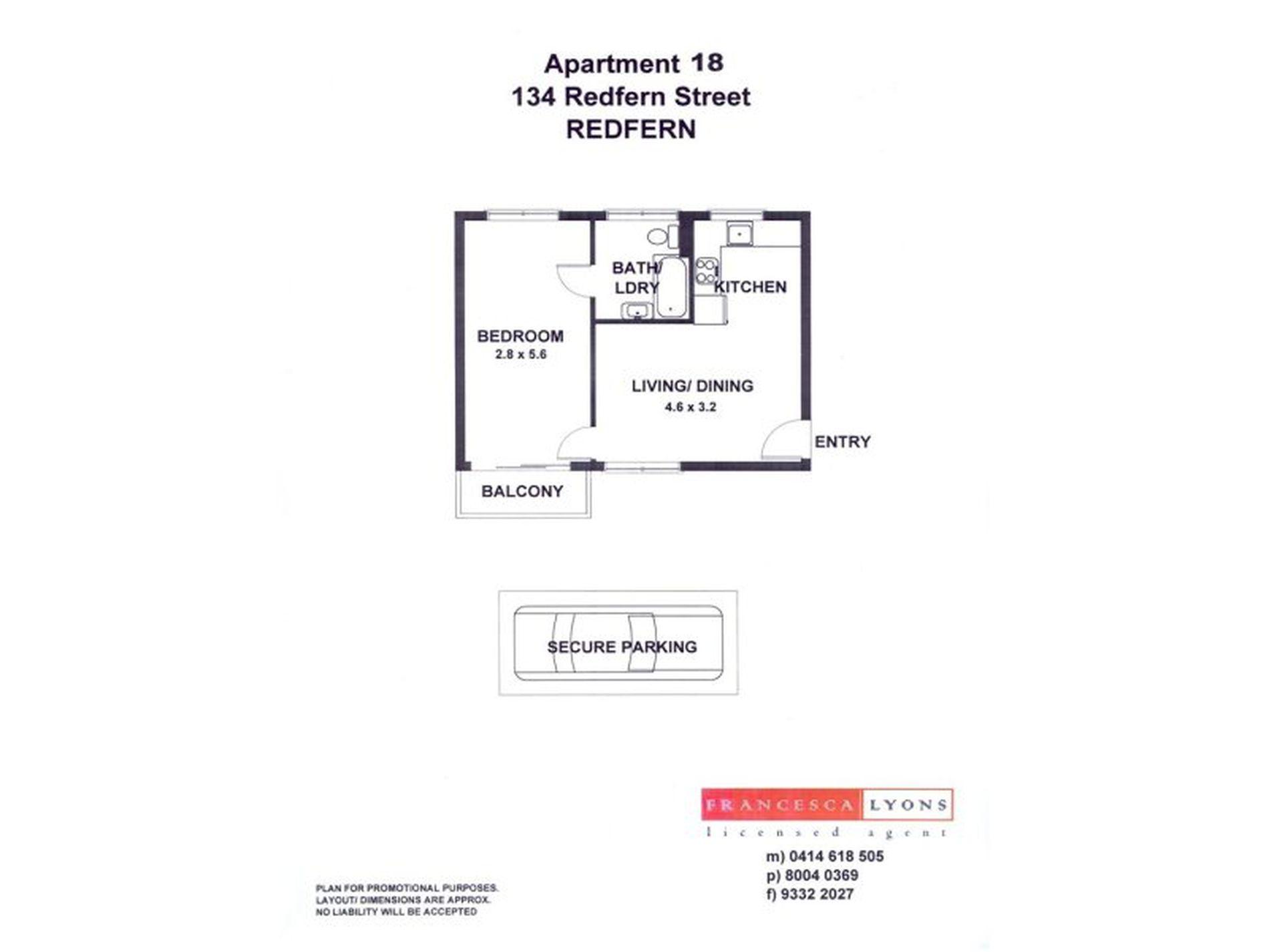 18 / 134-138 Redfern Street, Redfern
