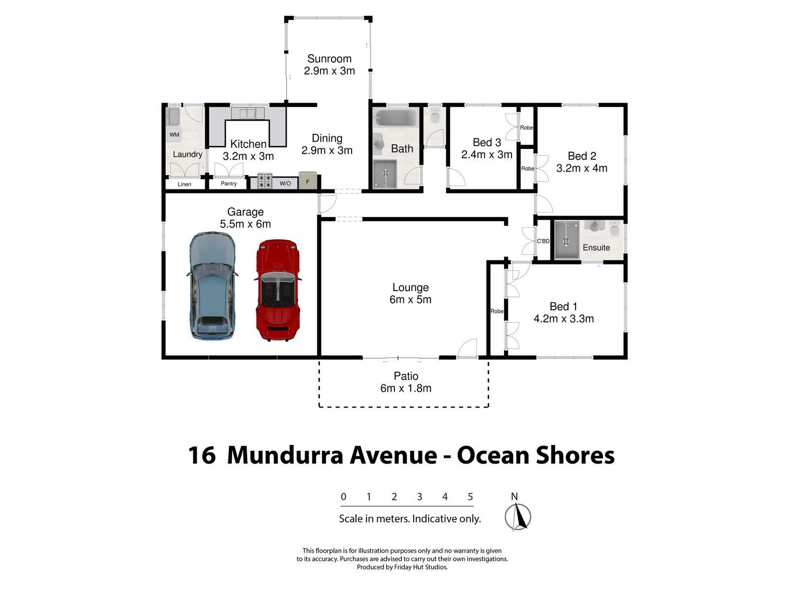 16 Mundurra Avenue, Ocean Shores