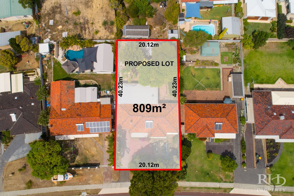 YOUR CHOICE -R40, 809 M2 DEVELOPMENT SITE OR 1 OR 2, 404m2 STREET FRONT BLOCKS
