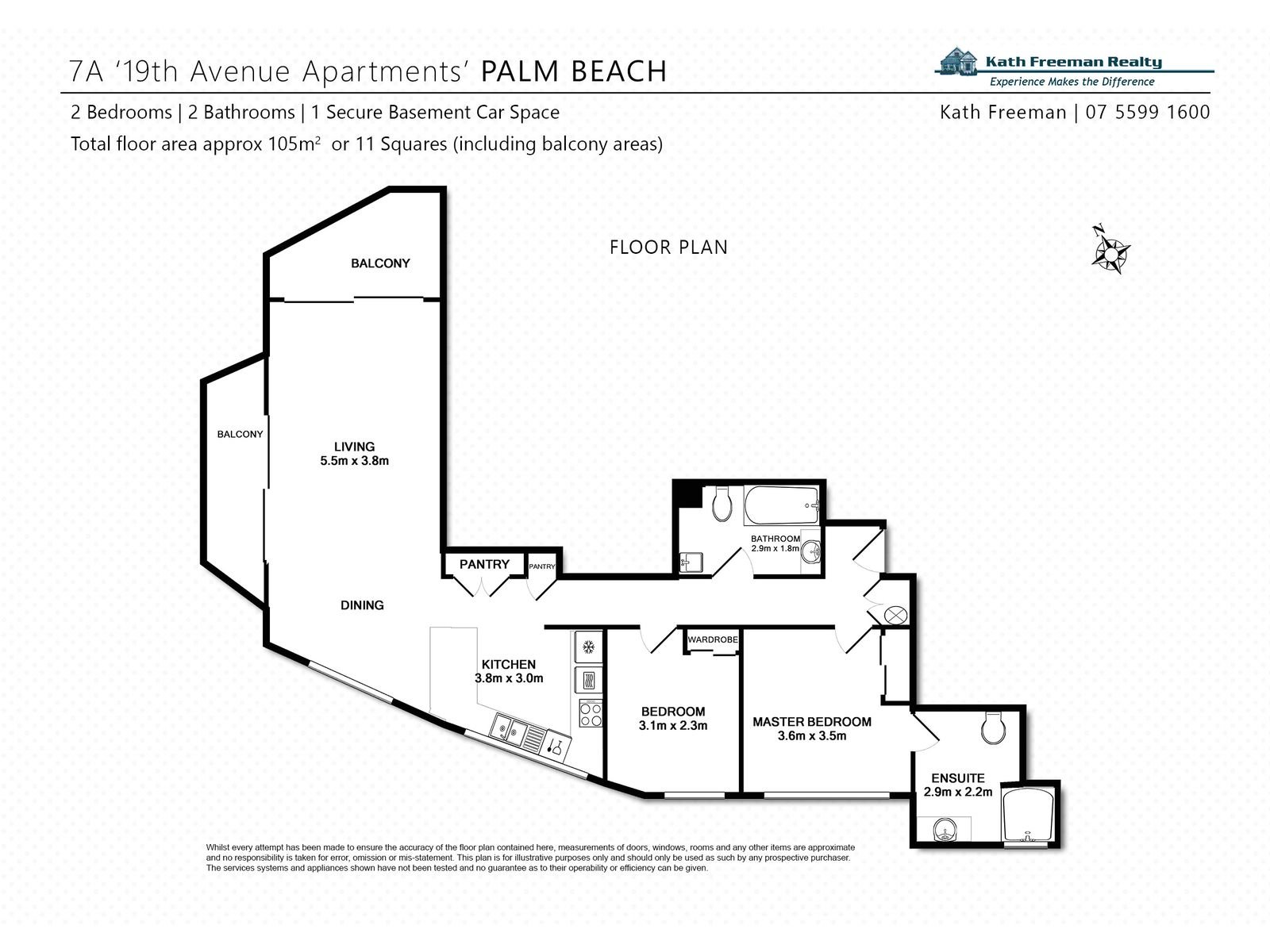 7th FLOOR / 2 19TH AVENUE, Palm Beach