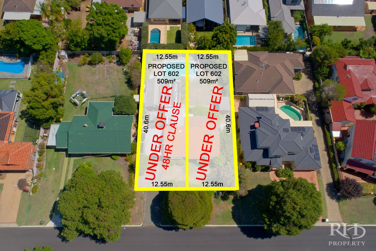 RARE PROPOSED 12.5M WIDE GREEN TITLE LOT. ONLY ONE REMAINS.