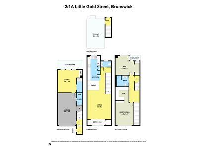 2 / 1A Little Gold Street, Brunswick