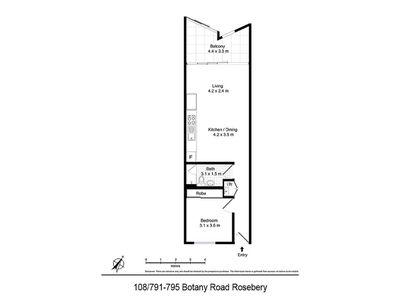 108 / 791-795 Botany Road, Rosebery